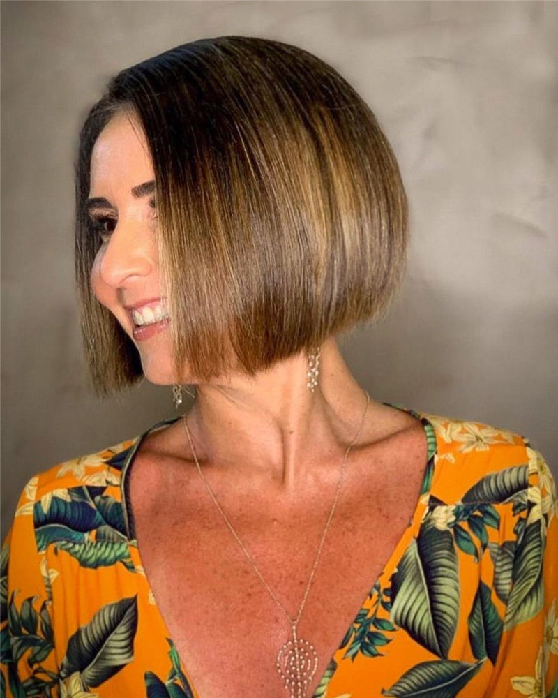 New Bob Haircut Ideas are Trending in 2021 29