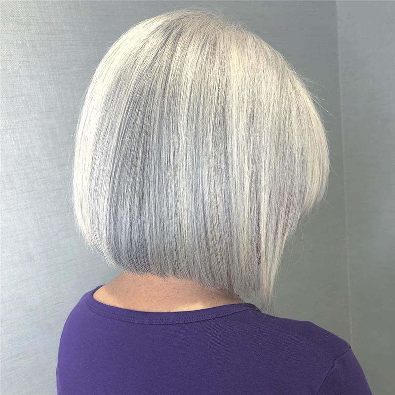 Stylish Grey Hair Ideas That Dont Make You Look Older 01