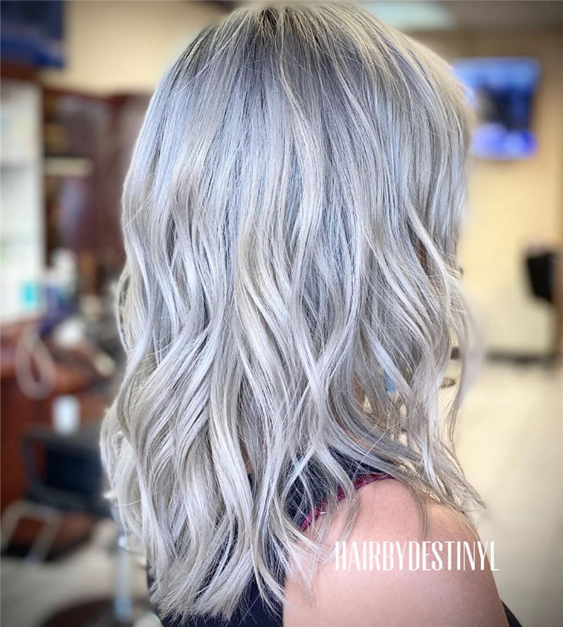 Stylish Grey Hair Ideas That Dont Make You Look Older 05