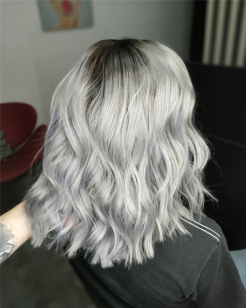 Stylish Grey Hair Ideas That Dont Make You Look Older 08