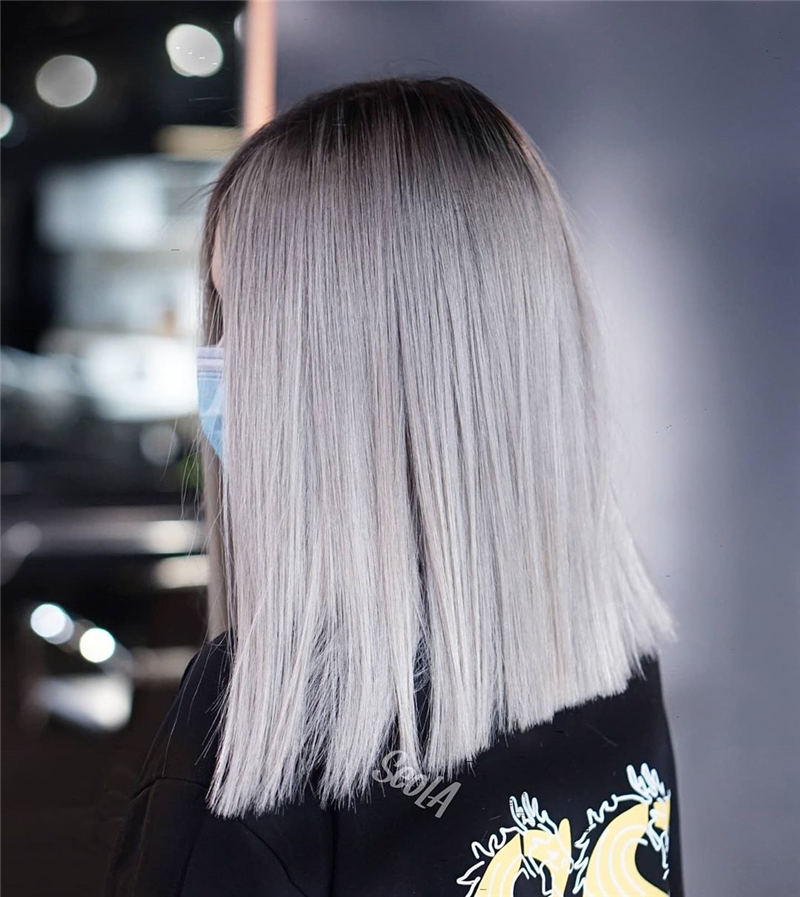 Stylish Grey Hair Ideas That Dont Make You Look Older 12