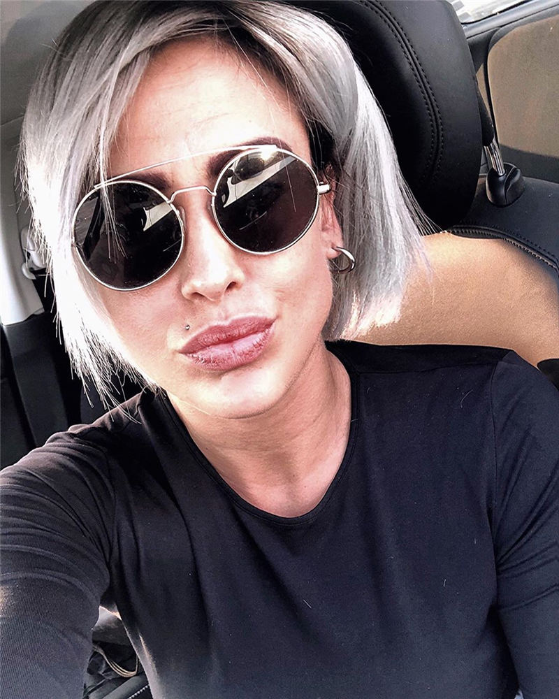 Stylish Grey Hair Ideas That Dont Make You Look Older 15