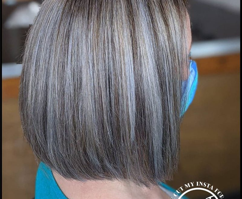 Stylish Grey Hair Ideas That Dont Make You Look Older 21