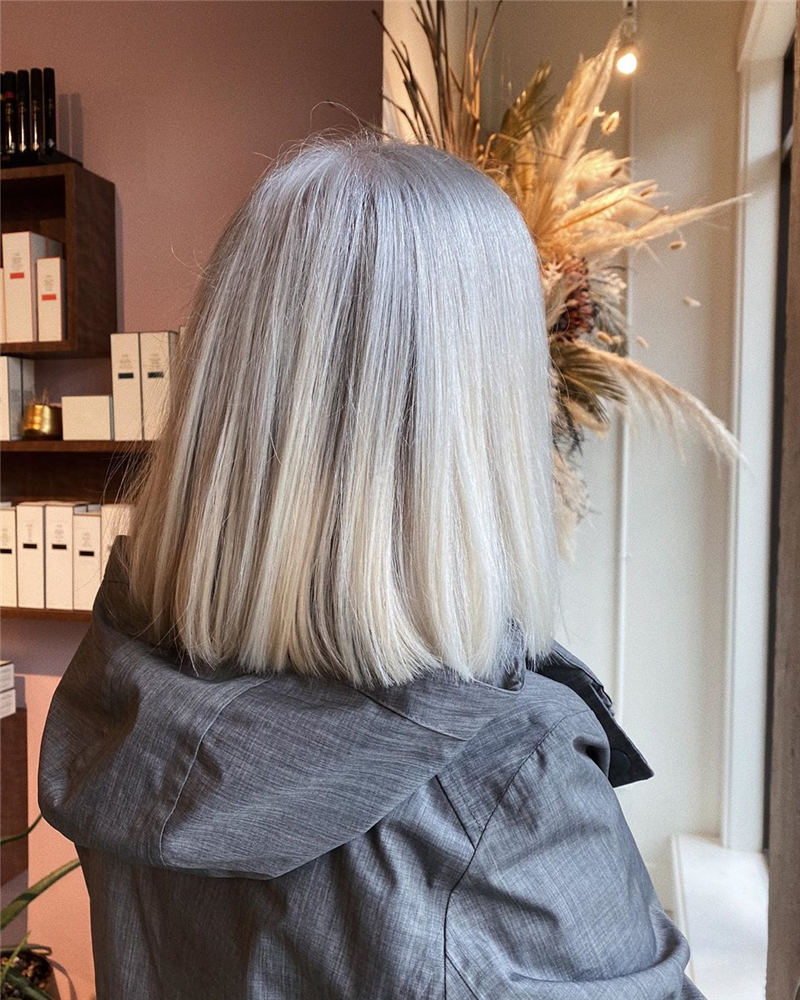 Stylish Grey Hair Ideas That Dont Make You Look Older 33
