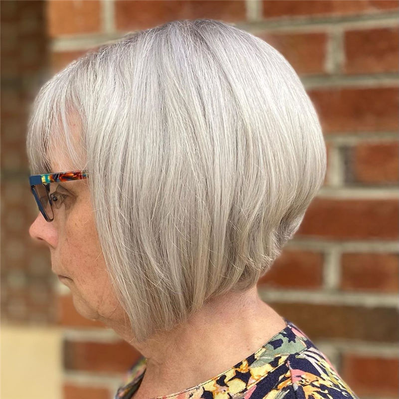 Stylish Grey Hair Ideas That Dont Make You Look Older 38