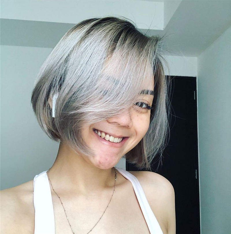 Stylish Grey Hair Ideas That Dont Make You Look Older 39