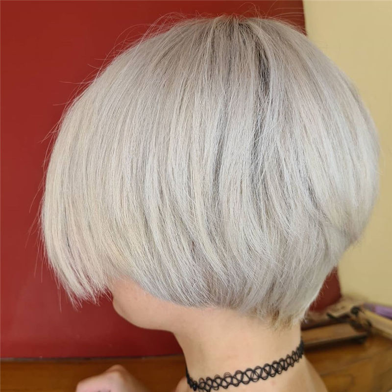 Stylish Grey Hair Ideas That Dont Make You Look Older 42