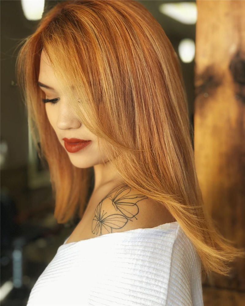 Top Fall Hair Colors You Need to Try Now 05