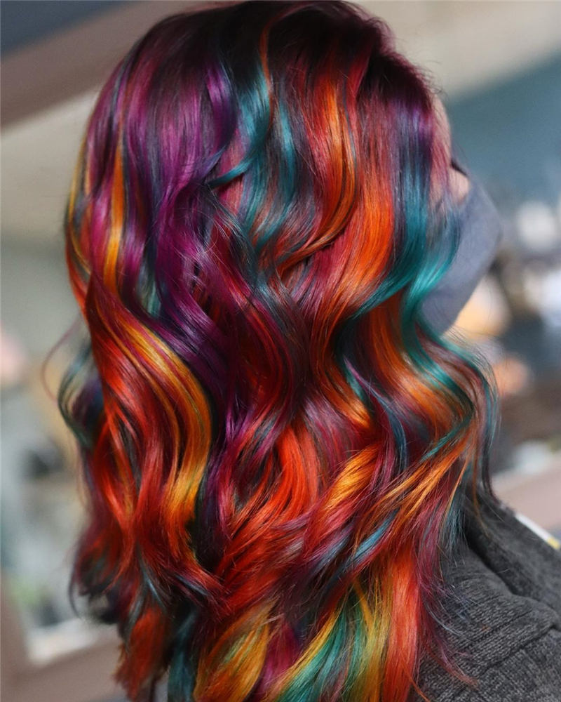 Top Fall Hair Colors You Need to Try Now 17