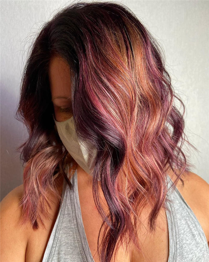Top Fall Hair Colors You Need to Try Now 23