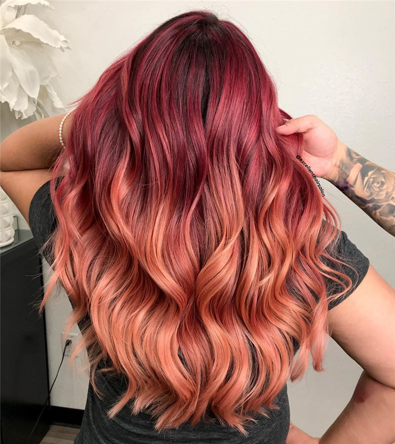 Top Fall Hair Colors You Need to Try Now 32