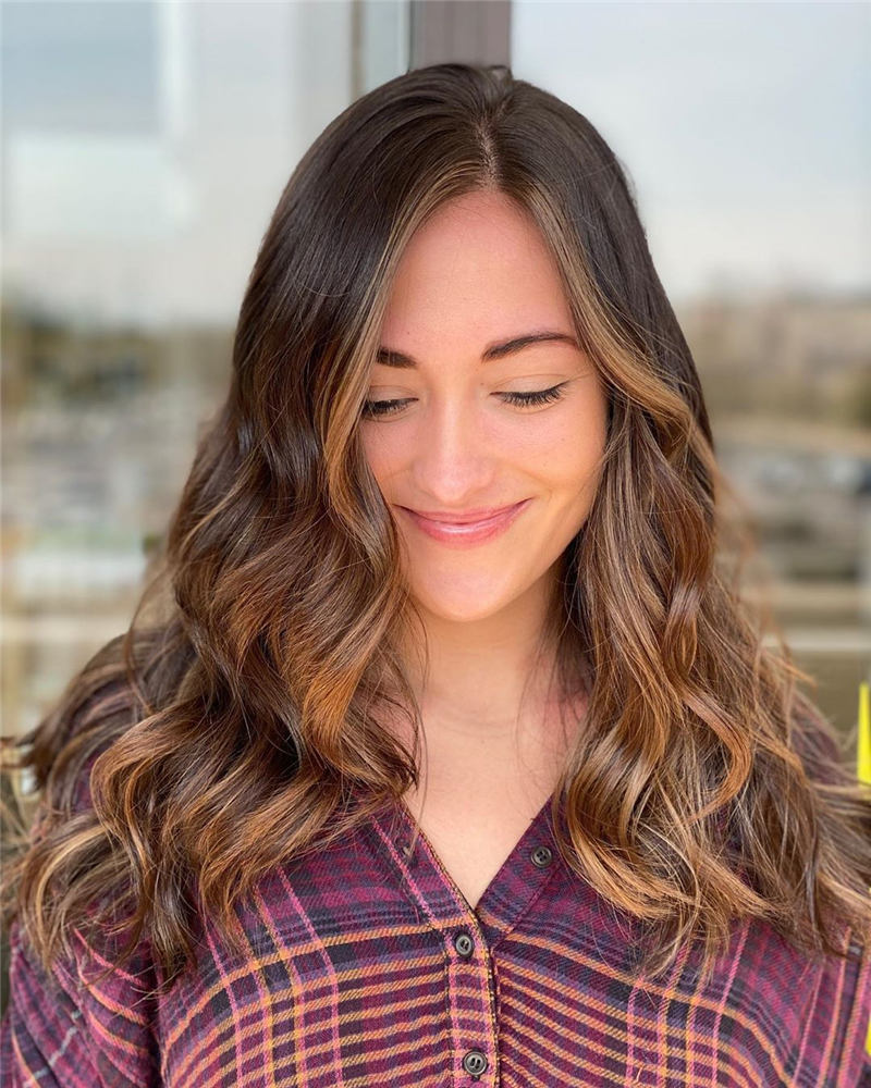 Top Fall Hair Colors You Need to Try Now 36