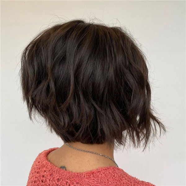 Amazing Layered Bob Hairstyles To Copy Asap 07