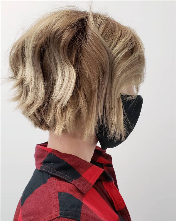 Amazing Layered Bob Hairstyles To Copy Asap 18