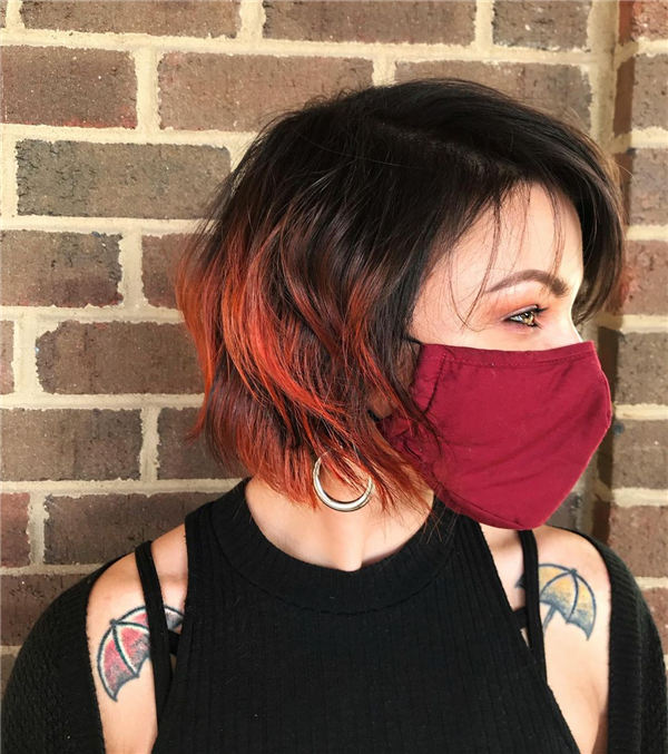 Amazing Layered Bob Hairstyles To Copy Asap 20