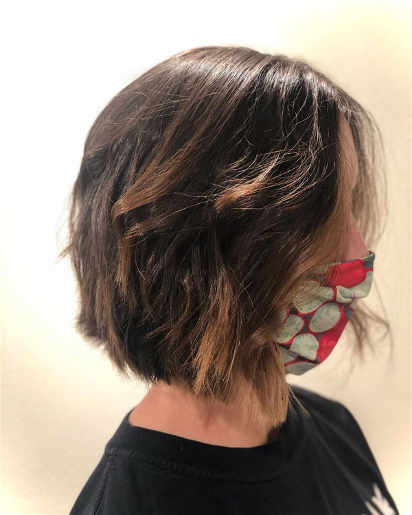 Amazing Layered Bob Hairstyles To Copy Asap 30