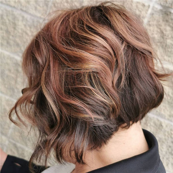 Amazing Layered Bob Hairstyles To Copy Asap 31
