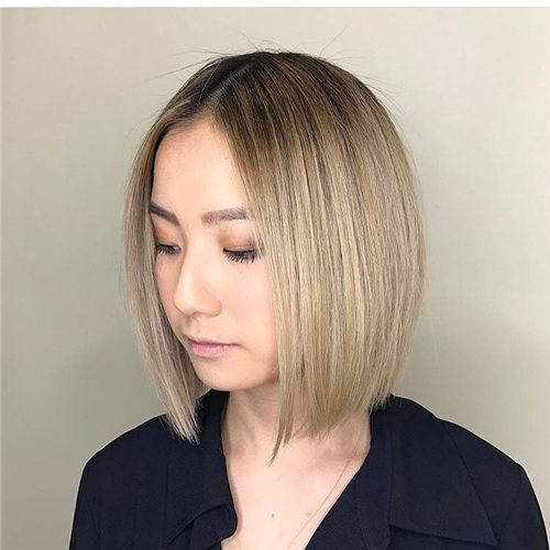 Best Blunt Bob Haircut Ideas You Can Try Now 01