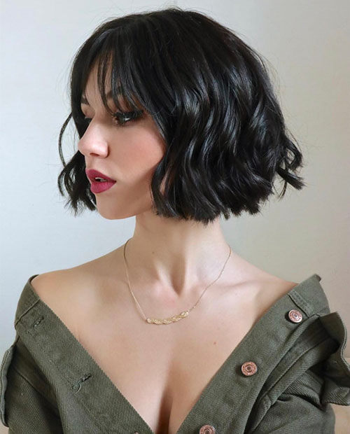 Best Blunt Bob Haircut Ideas You Can Try Now 02