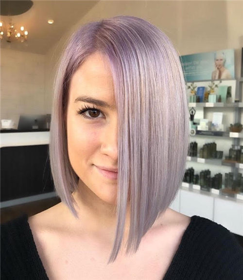 Best Blunt Bob Haircut Ideas You Can Try Now 07