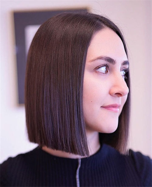 Best Blunt Bob Haircut Ideas You Can Try Now 08