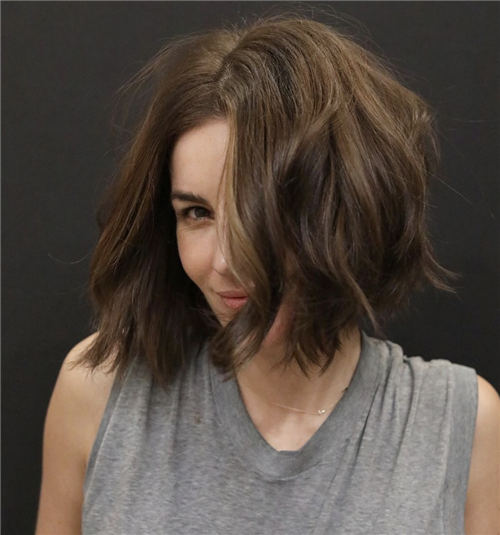Best Blunt Bob Haircut Ideas You Can Try Now 12