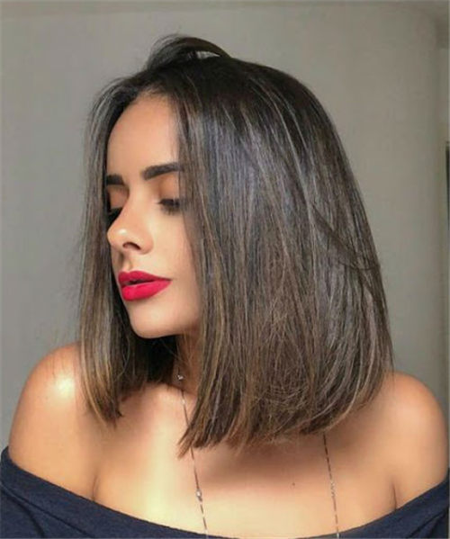 Best Blunt Bob Haircut Ideas You Can Try Now 16
