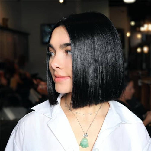 Best Blunt Bob Haircut Ideas You Can Try Now 18