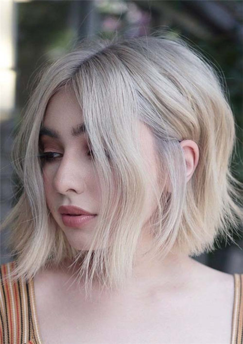 Best Blunt Bob Haircut Ideas You Can Try Now 19