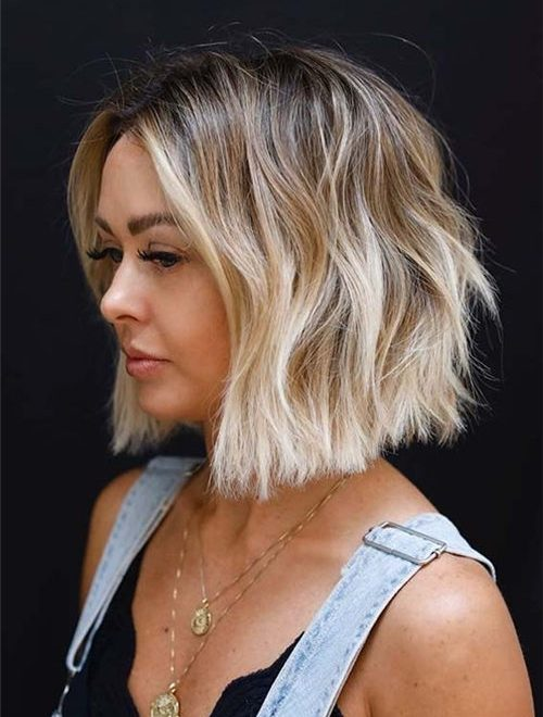 Best Blunt Bob Haircut Ideas You Can Try Now 21