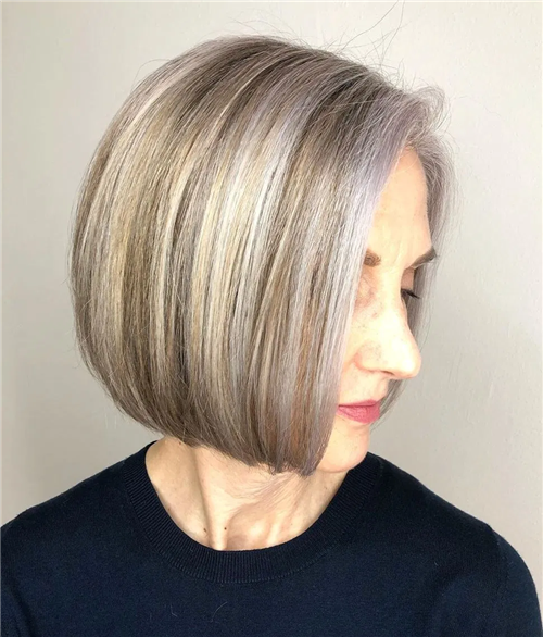 Best Blunt Bob Haircut Ideas You Can Try Now 25