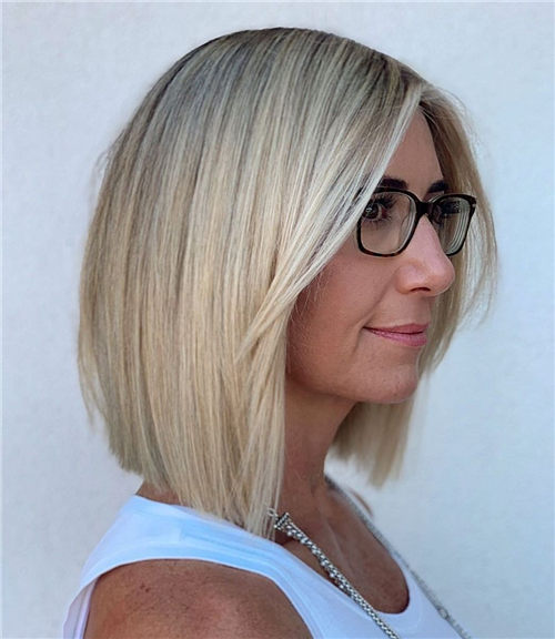Best Blunt Bob Haircut Ideas You Can Try Now 26