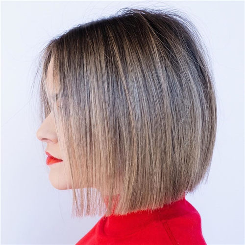 Best Blunt Bob Haircut Ideas You Can Try Now 30