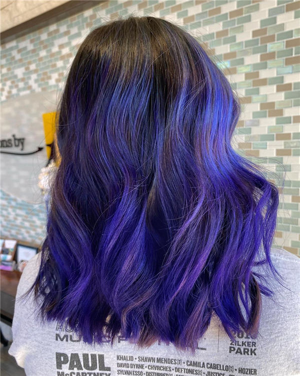 Blue and Purple Shadow Root