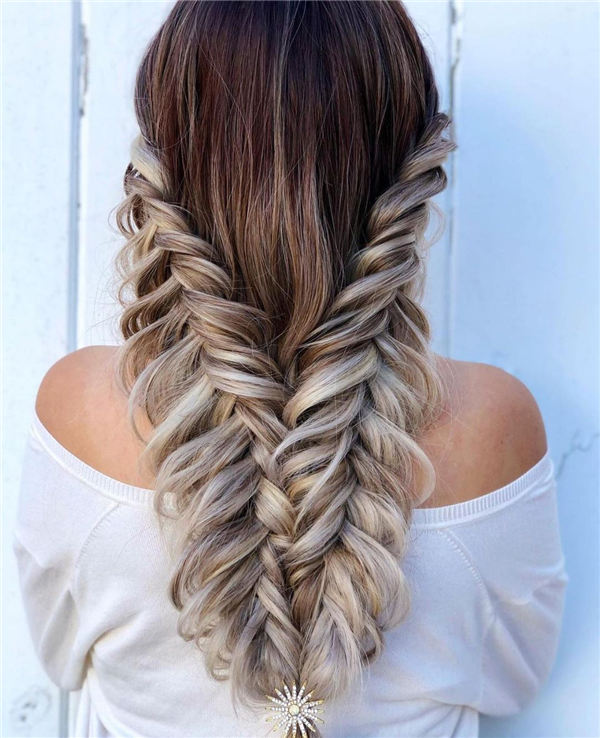 Braided Updo 2020