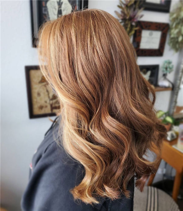 Highlighted Thick Hairstyles