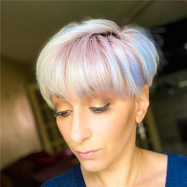 Pink and Blue Pixie