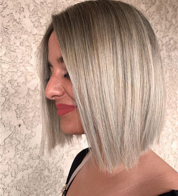 blonde and balayaged