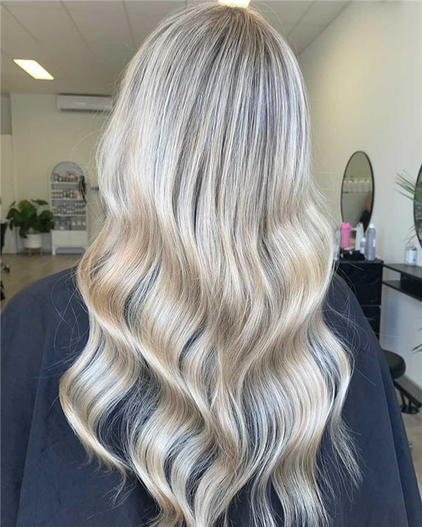 blonde ombre 2021