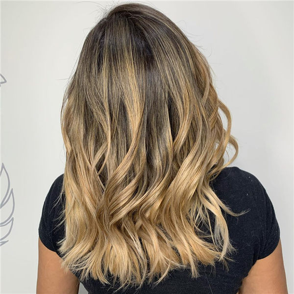 blonde ombre for women