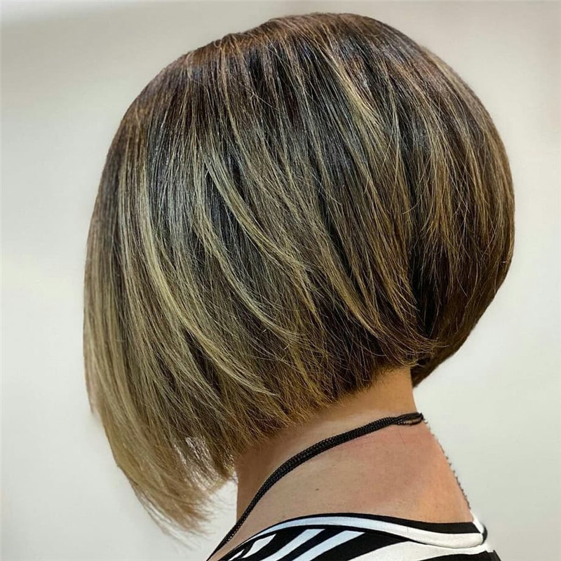 Blonde Inverted Bob 1