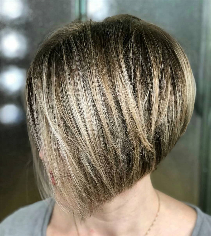 Golden Inverted Bob