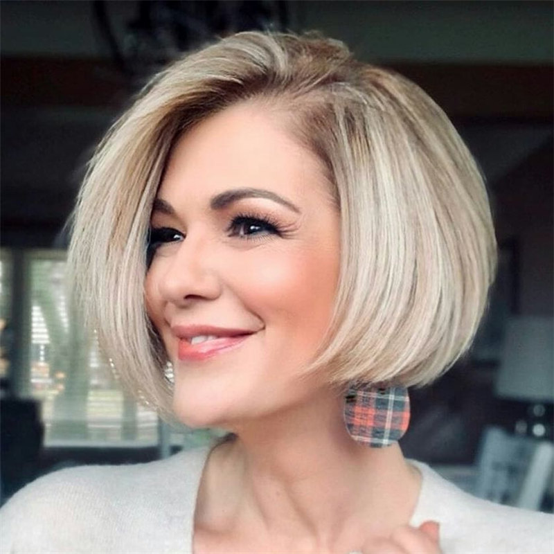 Grey Inverted Bob 2021