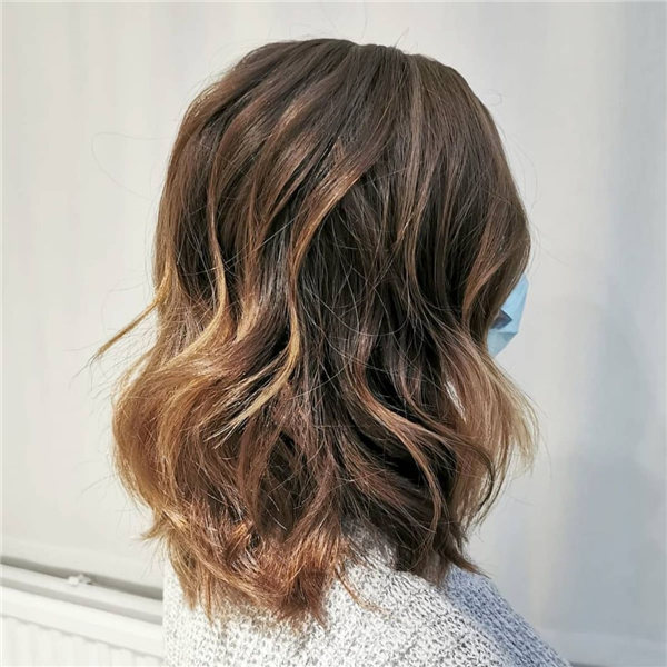 Hottest Medium Length Layered Haircuts and Hairstyles 2021 31