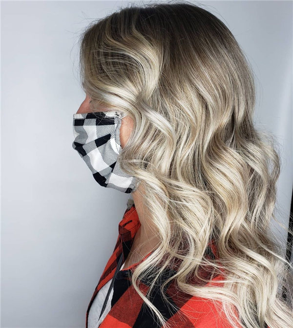 Hottest Medium Length Layered Haircuts and Hairstyles 2021 49