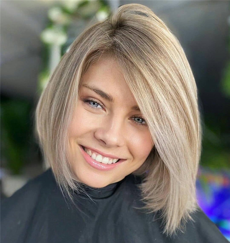 Inverted Bob with Shadow Root