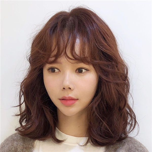 Korean Medium Hair