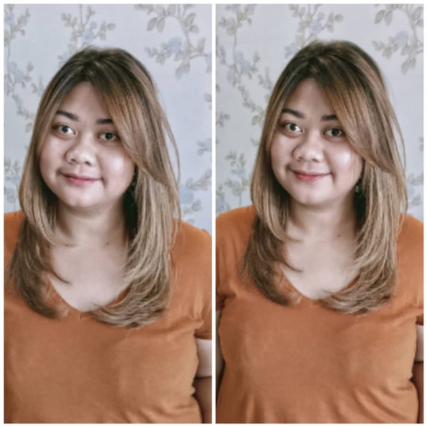 Medium Layered Haircut