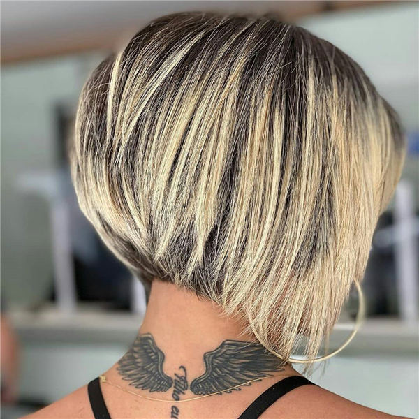 Shadow Root Inverted Bob