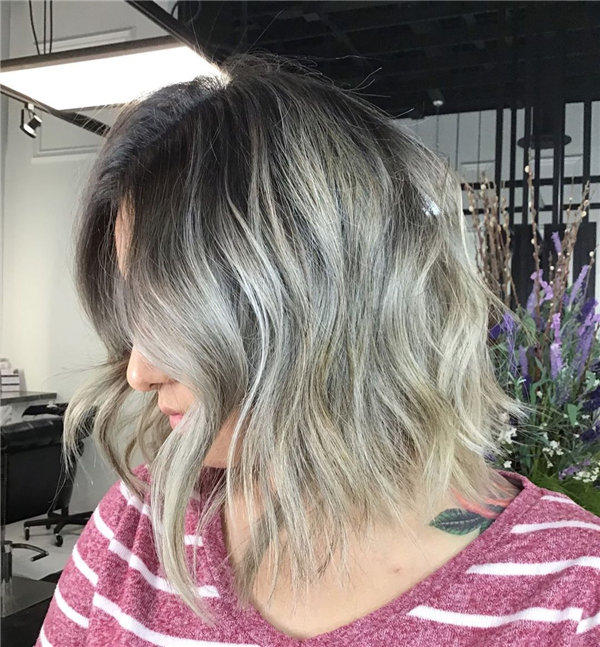 Short Balayage Ombre